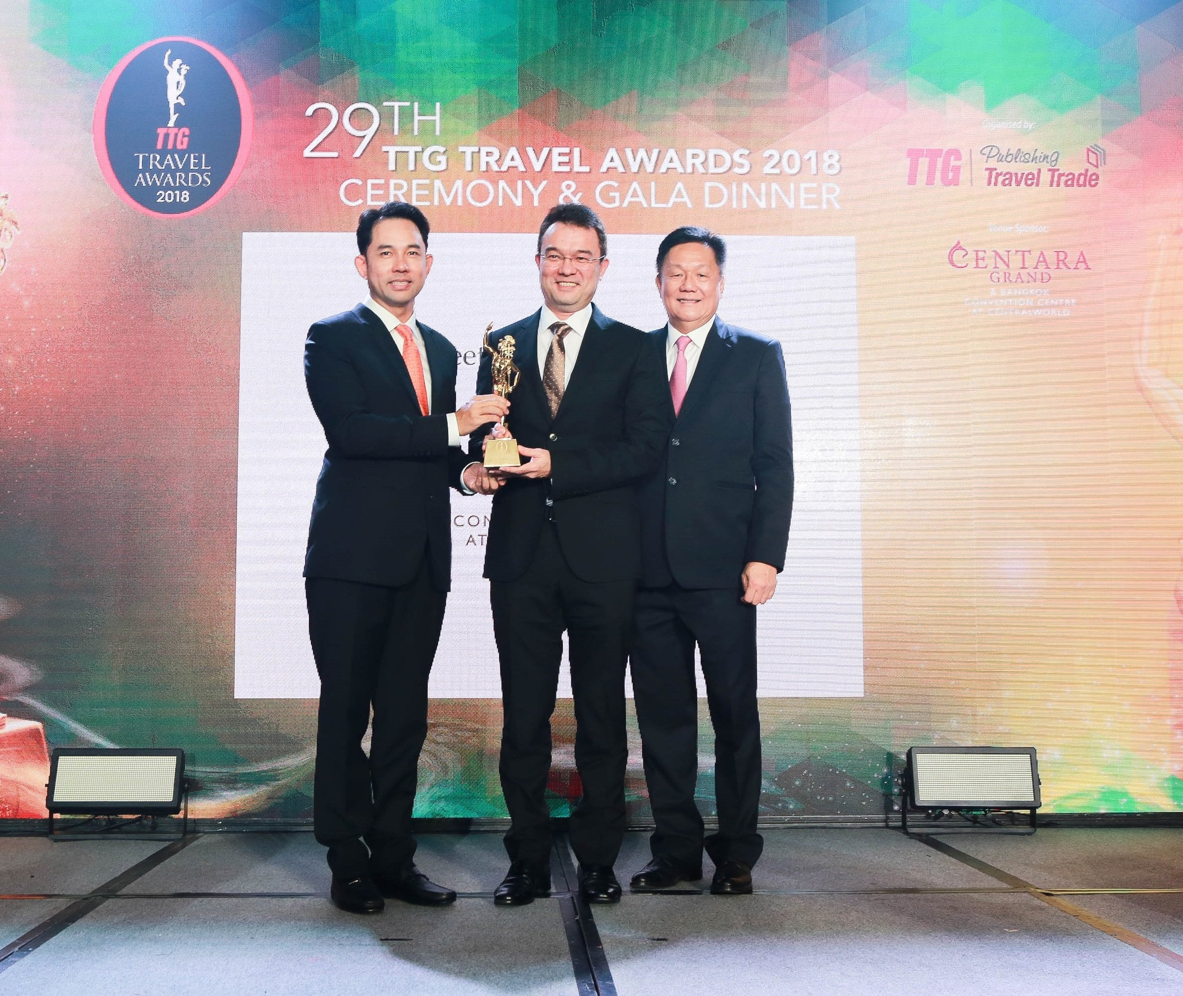 Travel industry recognises Centara