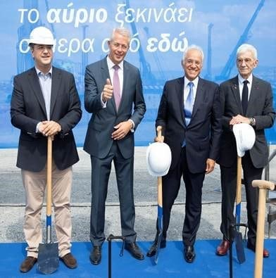 Fraport Greece's new terminal groundbreaking at Thessaloniki Airport