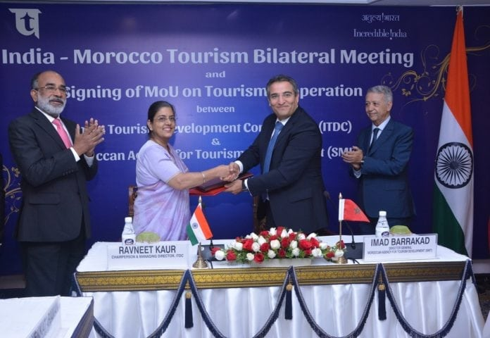 India Tourism inks MOU with Morocco