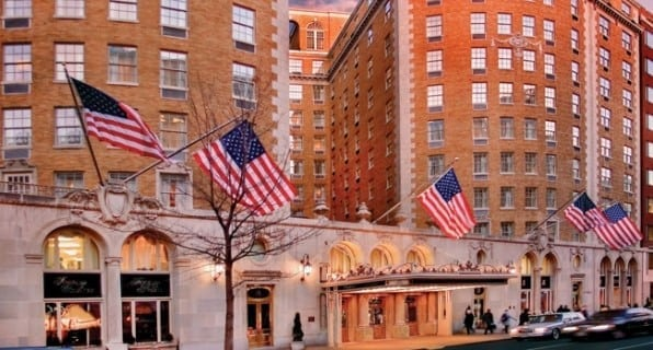 The Grande Dame of Washington: Hotel of Presidents