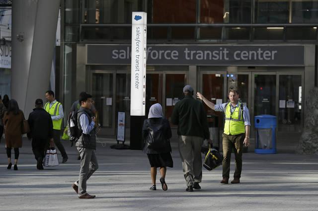 Another beam cracks at new San Francisco Transit Center
