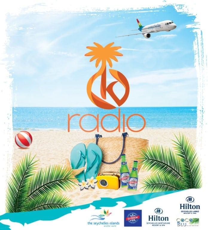 Hilton Labriz Jetty Belombre sees #ilovekradioSeychelles radio contest launch