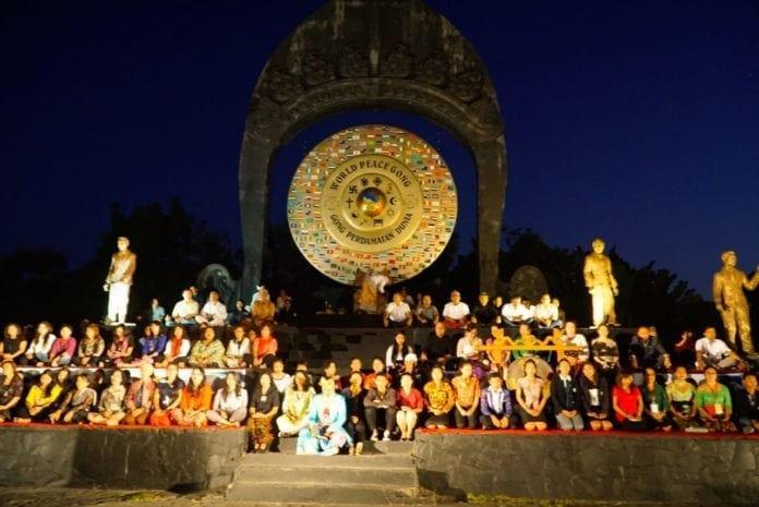 The World Peace Day Commemoration in Bali
