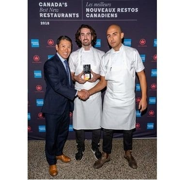 Air Canada announces Canada's Best New Restaurants 2018