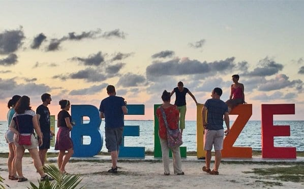 Tourism arrivals to Belize continue to register impressive growth