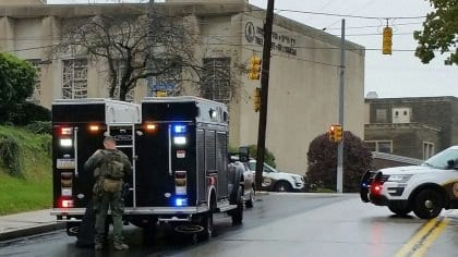 Eight people killed, three wounded in Pittsburgh synagogue terror attack