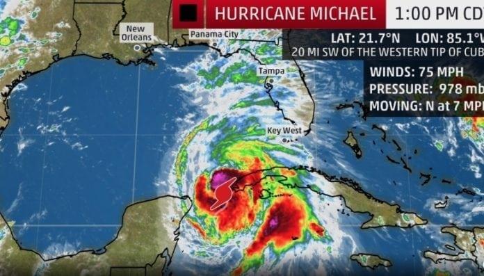 Florida Tourism Alert: Hurricane Michael on the way