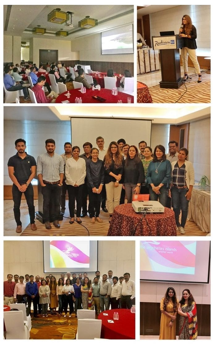 Seychelles Tourism Board conducts destination trainings in Surat and Nagpur