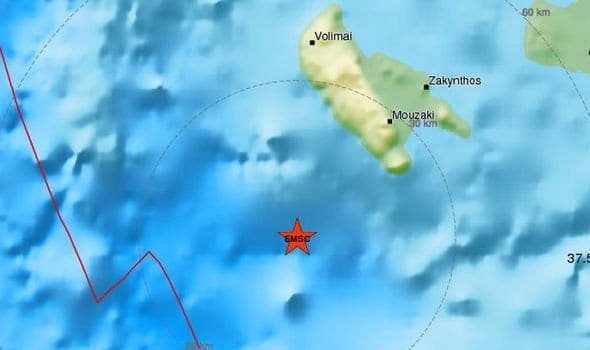 6.8 earthquake in Greece triggered tsunami felt in Malta, Libya, Italy, Greece, Macedonia, Albania, Bosnia, Bulgaria, Turkey.