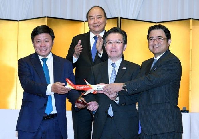 Vietjet expands network to Japan