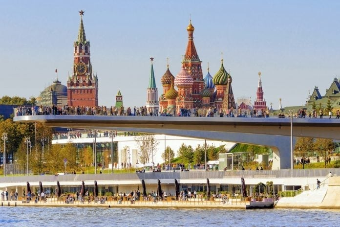 Tourism flow in Moscow increased by 10%