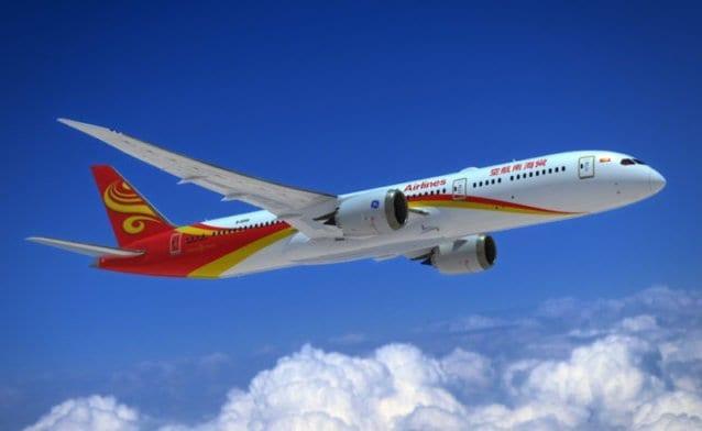 Hainan Airlines to launch Chongqing-Shanghai-Boston and Chongqing-Shanghai-Seattle services