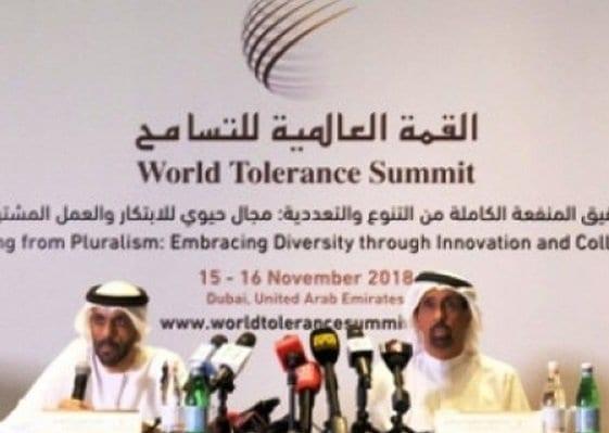 Dubai hosts first edition of World Tolerance Summit