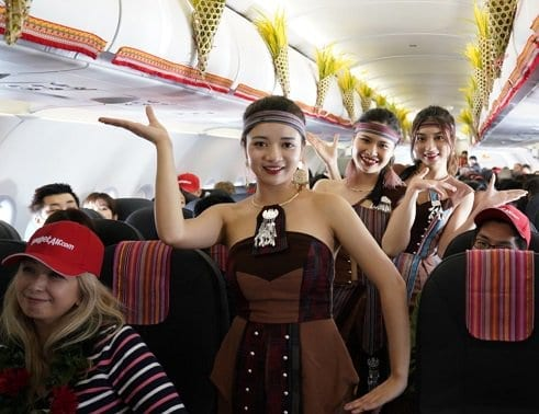 Vietjet welcomes inaugural flight from Vietnam to Japan