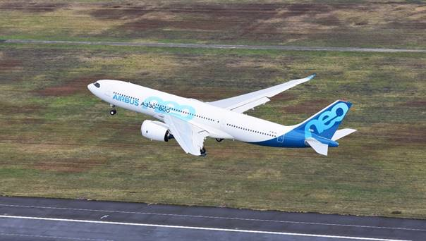 First A330-800 becomes airborne for its maiden flight
