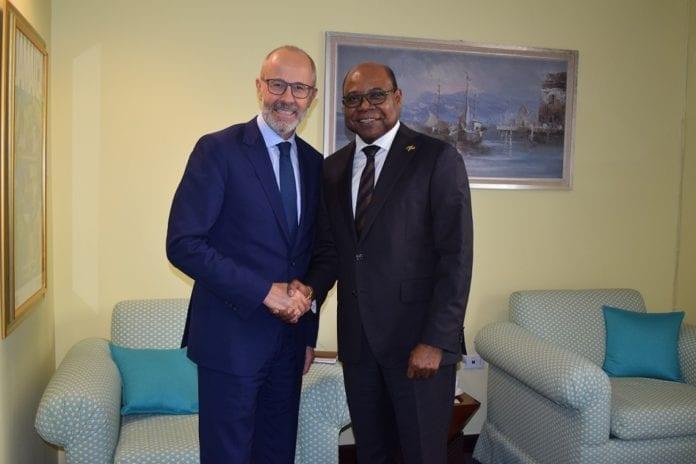 French Ambassador pays courtesy call on Tourism Minister Bartlett
