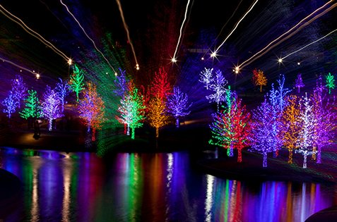 FAA: Do not aim holiday laser-light displays at the sky!