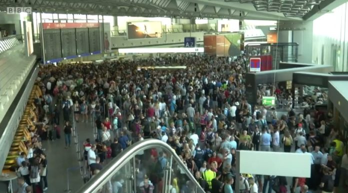 Lufthansa turns to the media for help at FRAPORT: 3000 Passengers caught in chaos