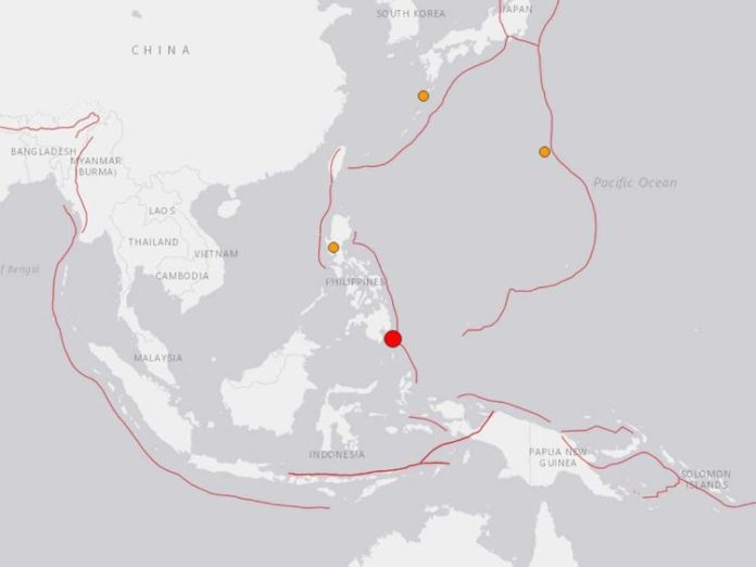 Massive Philippine Earthquake and Tsunami downgraded from 7.2 to 6.9