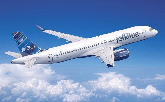 JetBlue Airways places massive order with Airbus