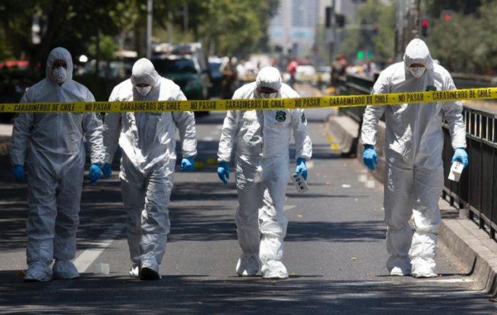 Five people wounded in Santiago bus stop terrorist bombing