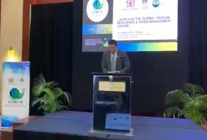Jamaica PM speaks at launch of Global Tourism Resilience & Crisis Management Centre