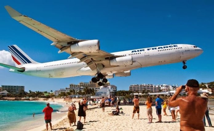 "St. Maarten's Princess Juliana Airport vying for ""Most Scenic Airport Landings"" crown"
