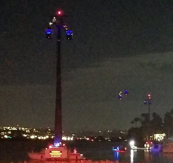 Tourists stranded 80 feet in the air for hours after SeaWorld Skyride malfunctions