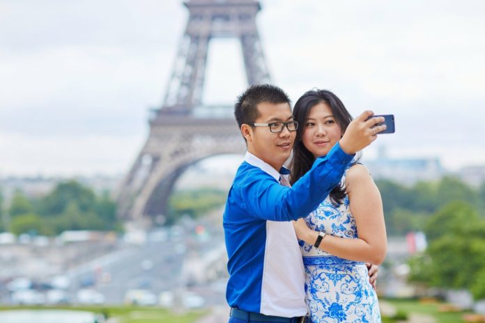 Increase in Chinese visitors outstrips global average