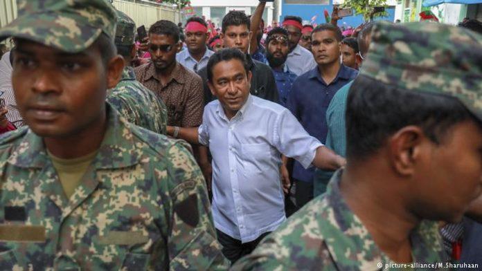 Maldives former president Gayoom arrested for tourism related crime