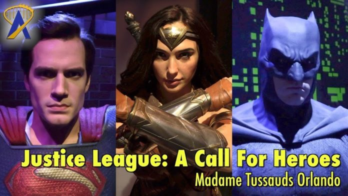 Madame Tussauds Orlando reveals two additions to Justice League