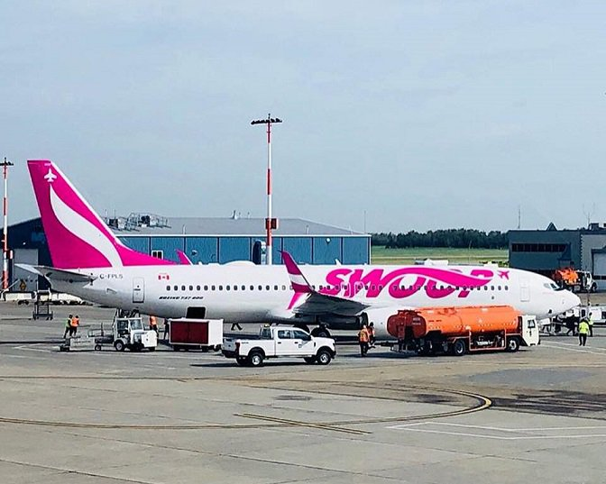 Swoop started service to London, Ontario, Canada