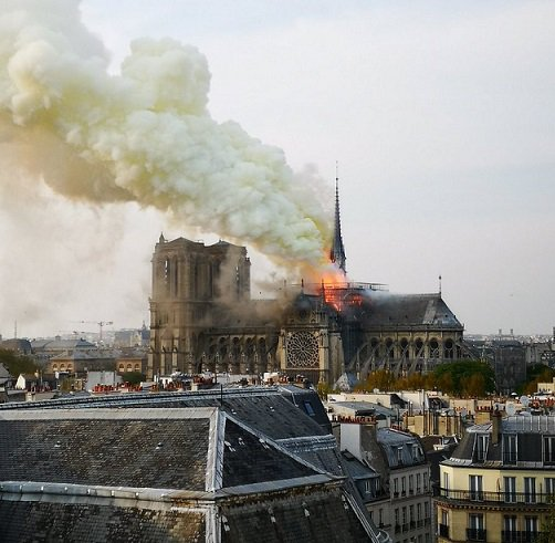 Notre Dame cathedral inferno: Paris iconic tourist attraction on fire
