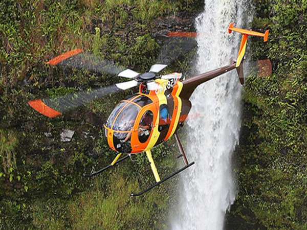 Tour helicopter crash lands in Oahu's Sacred Falls Valley