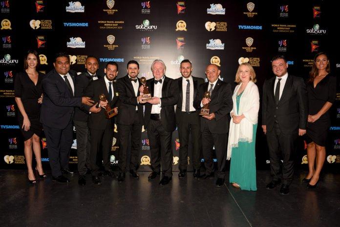 The World Travel Award goes to Shaza