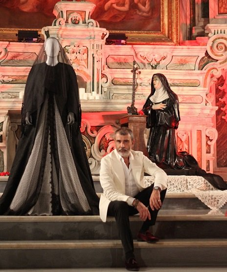 Michele Miglionico High Fashion parade at the Italian Embassy in Belgrade