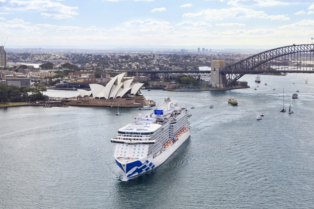 Princess Cruises launches largest Australia & New Zealand deployment