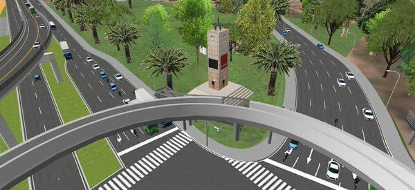 Uganda: Works begin on Kampala  $ 6.36 M Flyover project