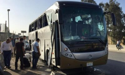 South African Tourists in Egypt attacked: Bomb exploded on tourist bus in Giza