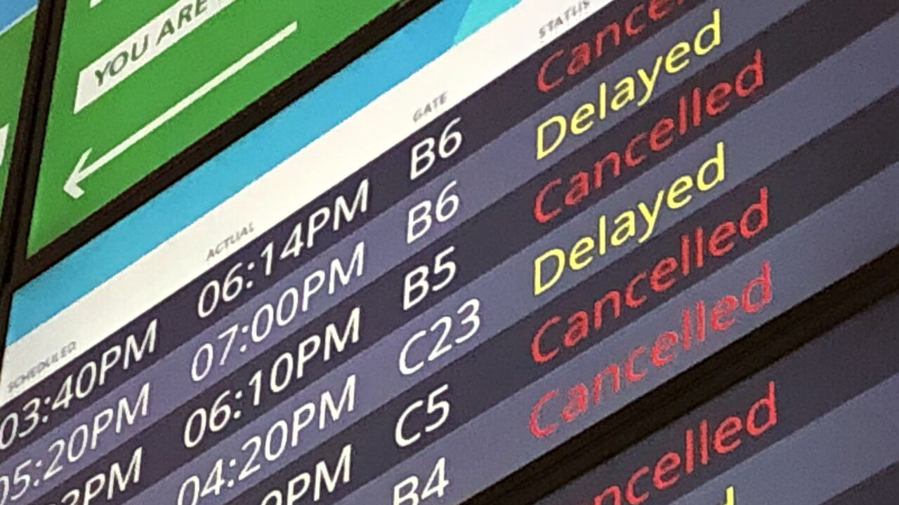 Reforms needed at US airliners: Air travel delays