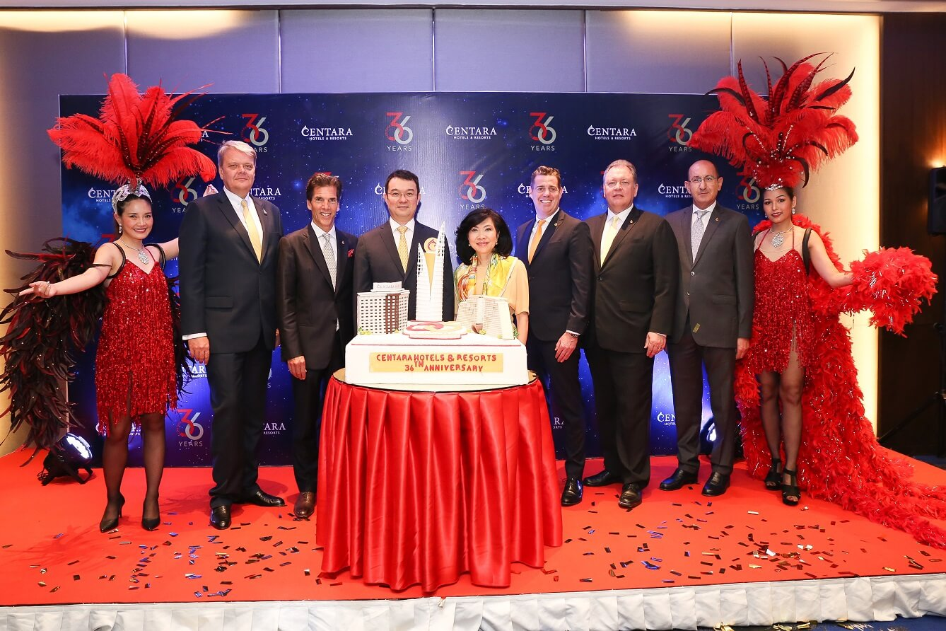 Centara kicks off 36th anniversary with epic 36-day global celebration