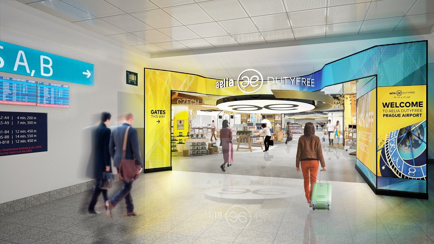 Prague Airport selects future operator of duty free shops