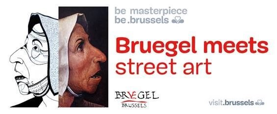 Bruegel meets street art in Brussels