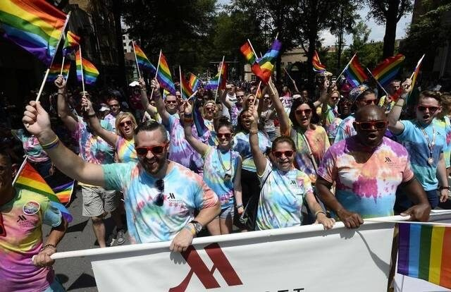 Marriott Hotels in the Midwest celebrate Pride Month in June