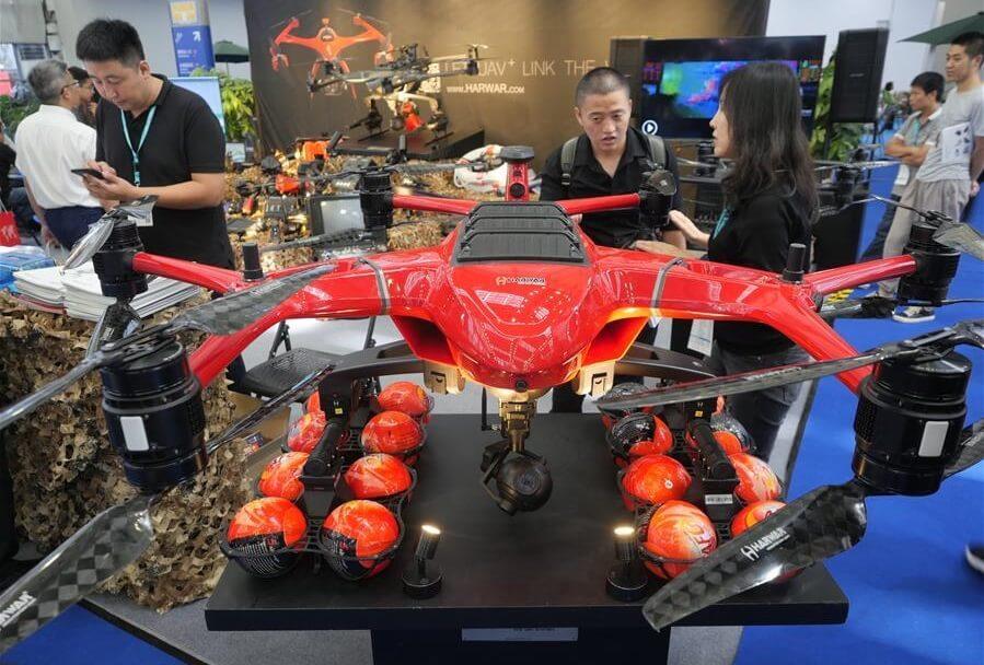 China's Guangdong hosts Drone World Congress 2019