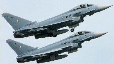Two Eurofighter jets crash in popular German holiday destination