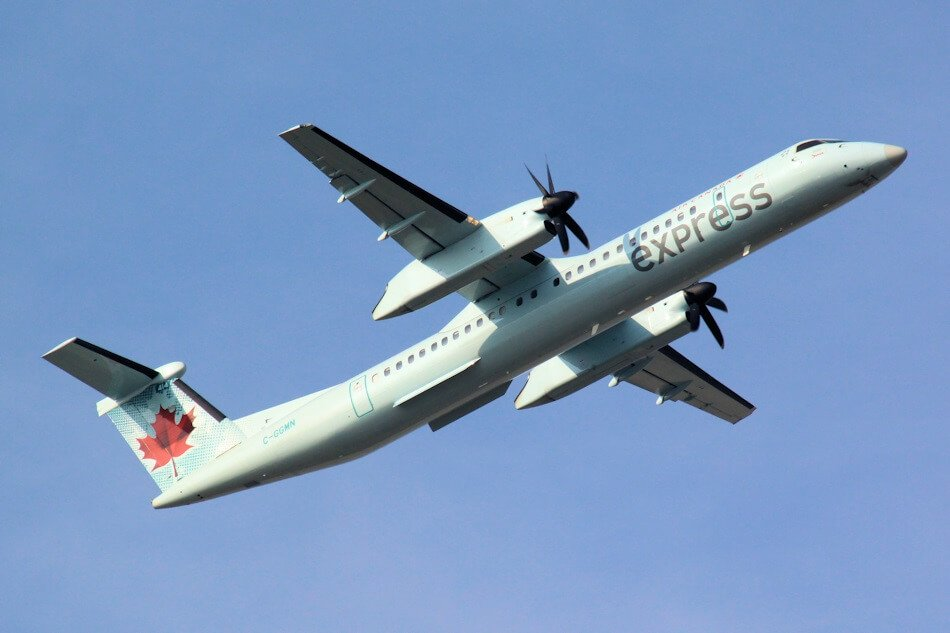 Air Canada flies from Montreal to Sydney, Nova Scotia