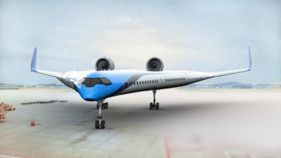 Brave new world: Bizarre air travel ideas dreamt up by aviation industry
