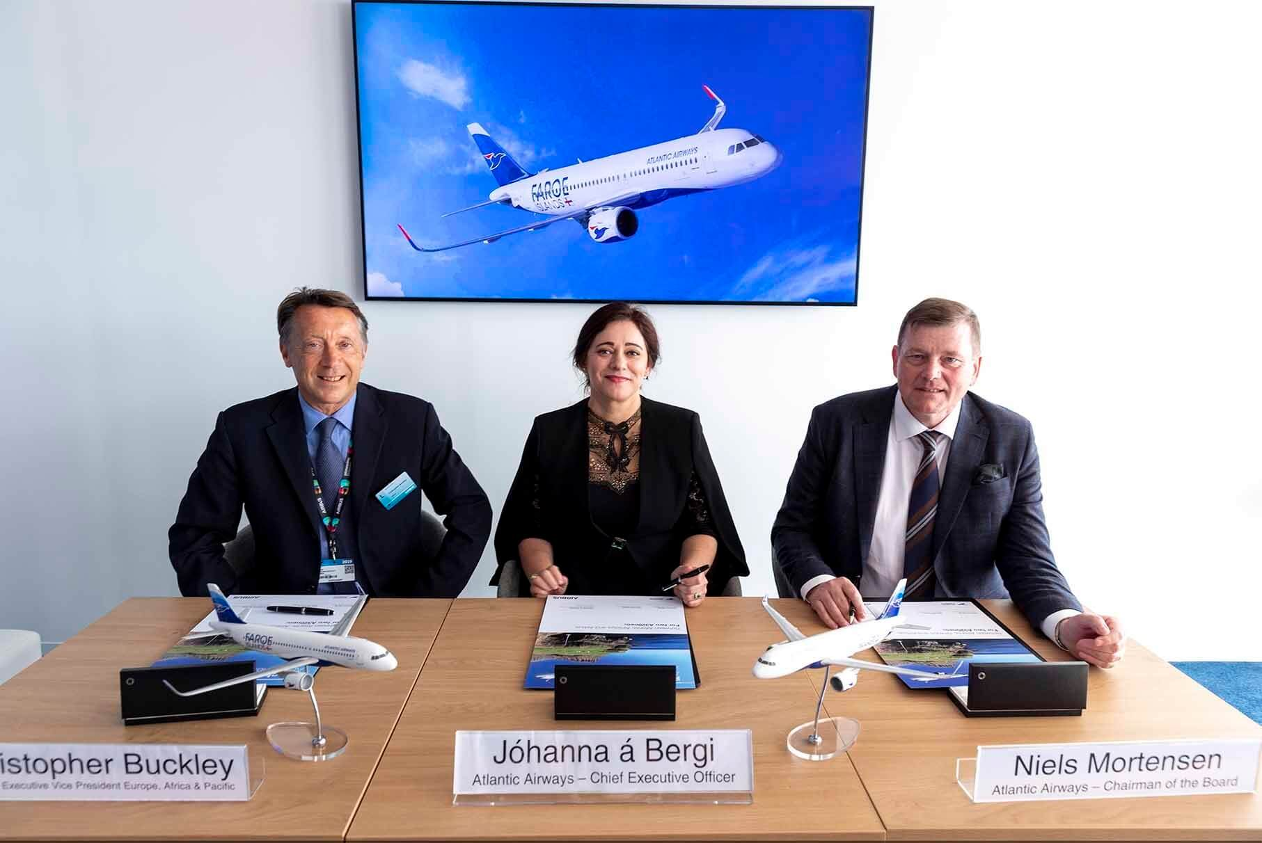 Atlantic Airways orders two A320neo jets