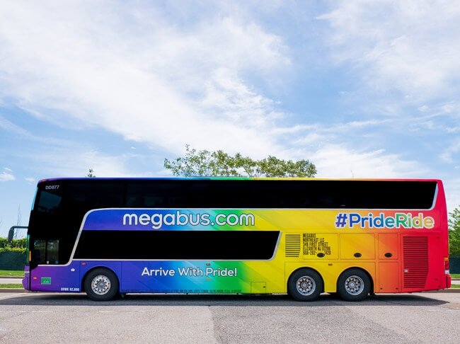 Pride Month: Megabus will hit the road